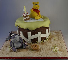 Pooh's first Birthday! (Dot Klerck....) Tags: cake southafrica capetown disney dot wellington winniethepooh eeyore childrenscakes kidscakes eatcakeparty