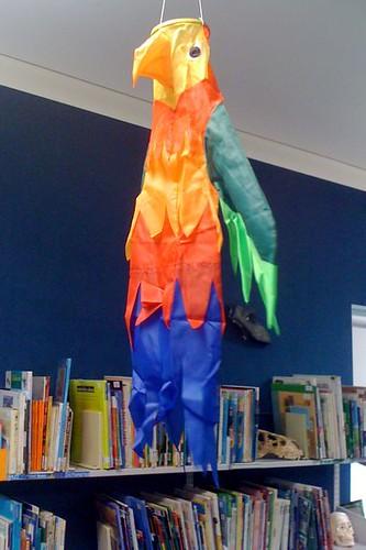Parrot wind sock
