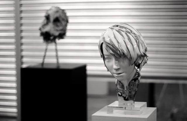 Hyung Jin Park: Aluminium Foil and Resin and Jung Pyo Hong: Inferiority Feeling