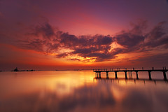...lonely in the Weekend Morning (Keris Tuah) Tags: new city trip travel sunset red vacation portrait sky seascape color art beach nature water beautiful fashion silhouette night clouds sunrise canon landscape photography freedom asia niceshot images malaysia future penang recovery keris treatment waterscape wow1 tuah keristuah bestcapturesaoi elitegalleryaoi mygearandme