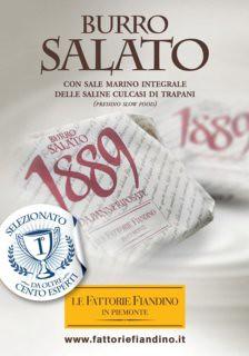 Burro Salato 1889
