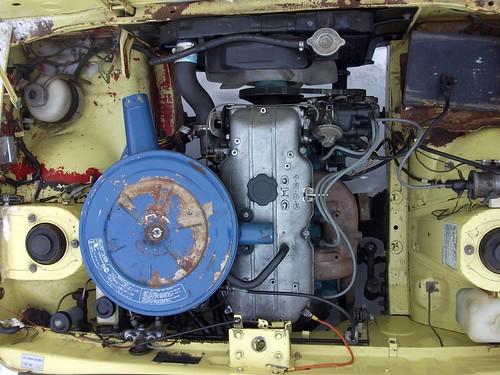 1973 Mazda 808 Coupe engine