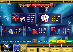 free Magic Multiplier slot mini symbol