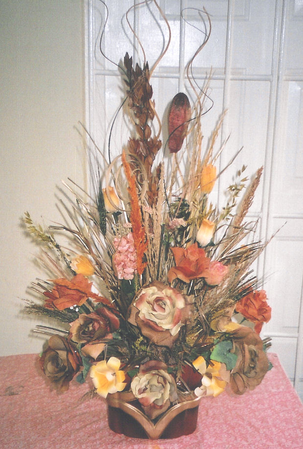 Silk & Dried Floral Design - Barbados Florist