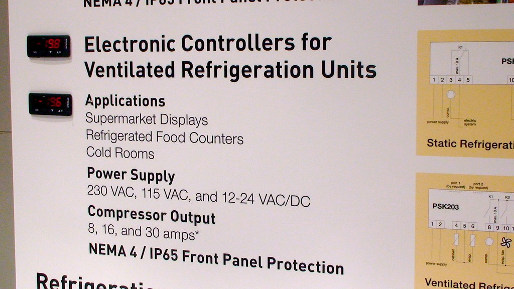 About Parker electronic controllers for ventilated refrigeration units