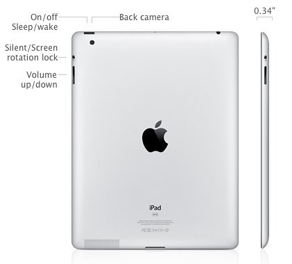 Apple - iPad - View the technical specifications for iPad.