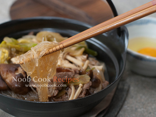 Traditional Sukiyaki (Japanese Beef Hot Pot) Recipes ...