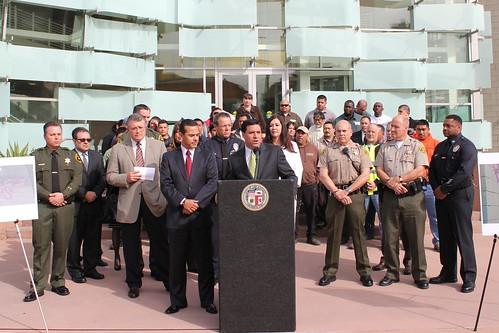 Councilmember Jose Huizar-Hollenbeck-LAPD-Graffit Tracking-TAGRS
