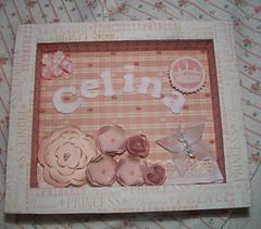 { Para uma baby } (CANELA COOL by CAROL) Tags: baby flower girl scrapbook princess flor quadro beb garota princesa menina quadrinho decoupagem scrapdecor