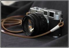 Leica M3 and Nokton 50 f/1.1 and Gordy strap (Str@vinsky) Tags: camera leica film 1955 35mm voigtlander ds m3 nokton stravinsky wetzlar leitz leicam3 doublestroke voigtlandernokton50mmf11 nokton50f11