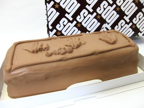 赤坂トップスのチョコレートケーキ