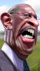 Herman Cain - Caricature