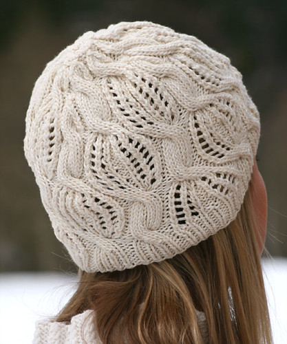 Golden Dreams hat, knitting pattern by Katya Wilsher