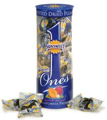 individually wrapped prunes