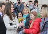 Kate Middleton meets wellwishers outside City Hall in Belfast on March 8, 2010.
