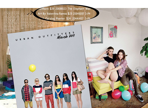 Urban Outfitters March 2011 Catalog