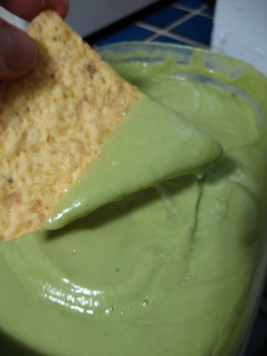 creamy green salsa