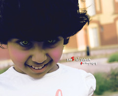 Beauty Devil  (She5 Al Shbab ) Tags: cute beauty eyes devil lovely zahra   zezo