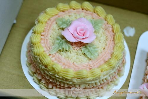 天使媽媽蛋糕皂教學台中 0027