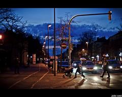 I I I I I (.joao xavi.) Tags: street streets luz brasil night germany deutschland lights noche calle pessoas strasse carros noite luzes rua passagem alemanha nrnberg gostenhof jooxavi