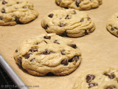 Nigella's Big Chocolate Chip Cookies 1