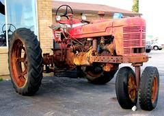 She use to think my tractor's sexy (frankieleon) Tags: tractor interestingness interesting bestof farm cc creativecommons popular farmequipment farmerall frankieleon frankleon