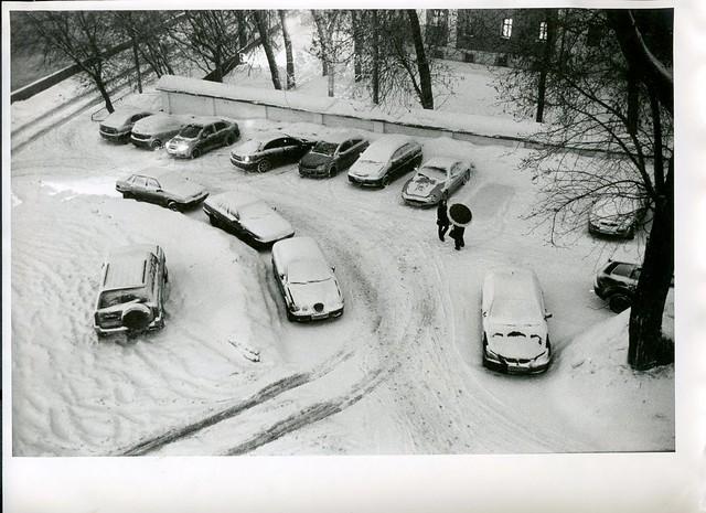 Москва, февраль 2011