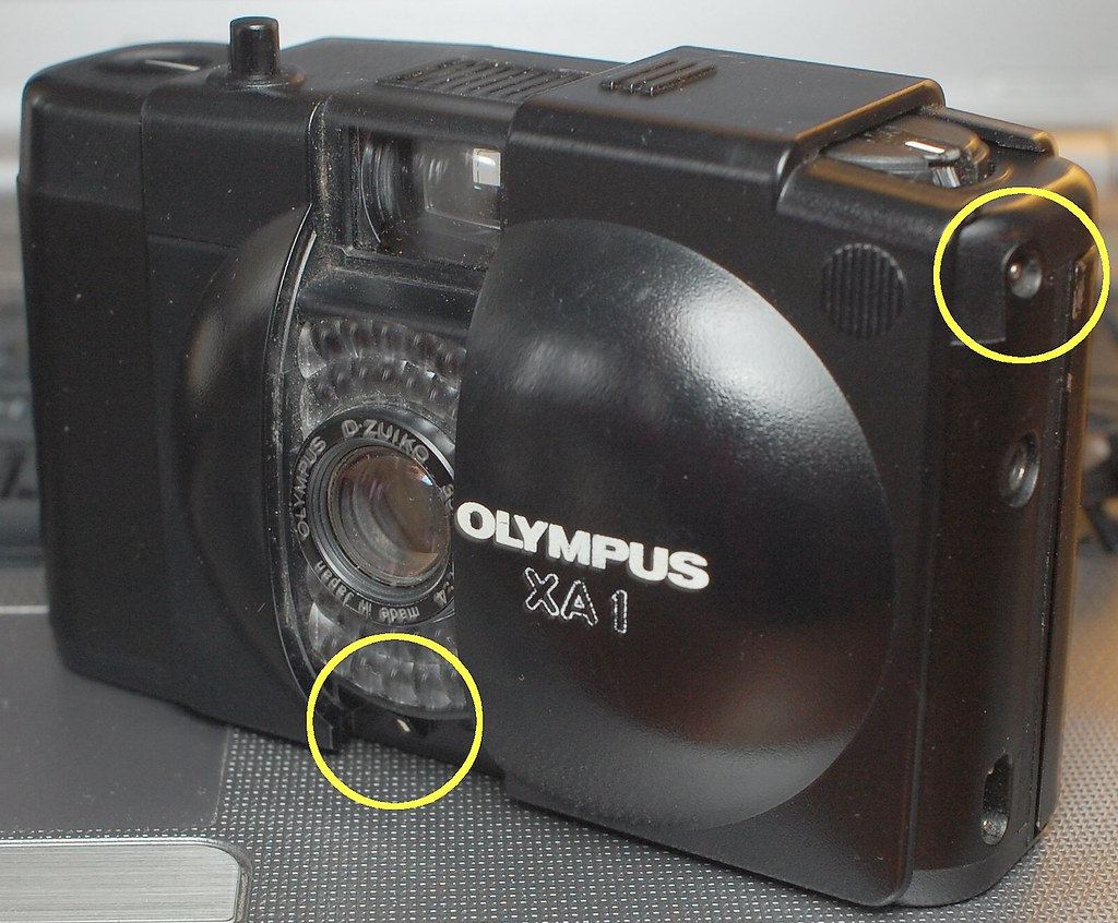 How to avoid red flags on the Olympus XA1 at f4