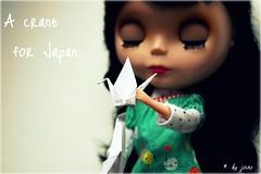 A crane for Japan..
