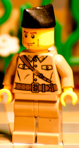 Custom minifig Adventurer's HQ: Soldier
