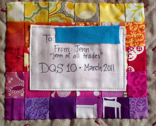 DQS10 label