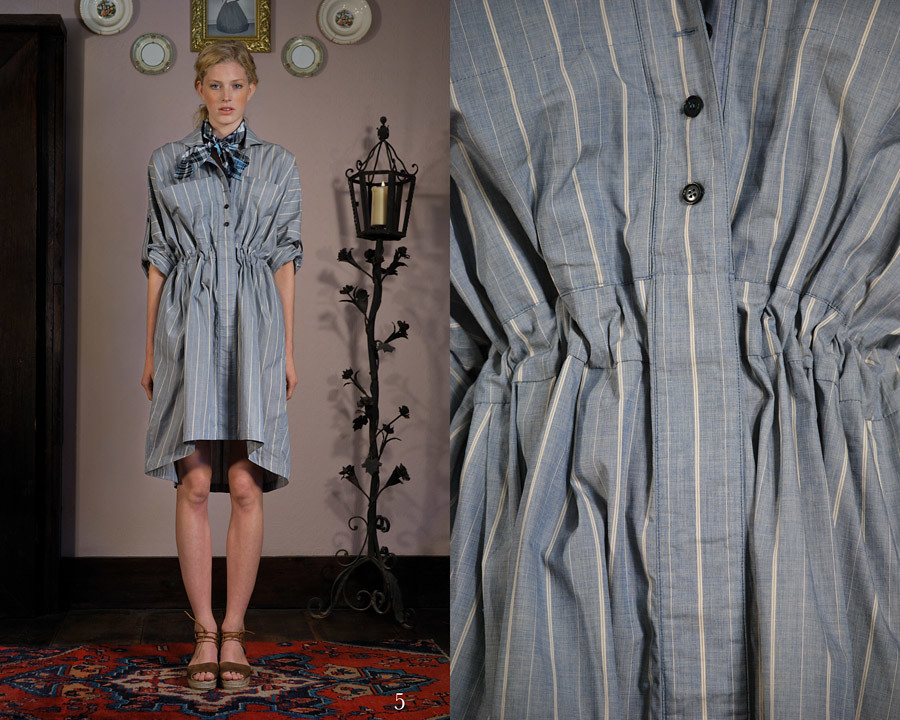 chambray stripe