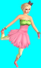 Torley Avatars 529 (▓▒░ TORLEY ░▒▓) Tags: pink green grid persona neon transformation expression character avatar linden watermelon identity secondlife virtual crop variety bluescreen manifestation shapeshifter torley olmstead incarnation