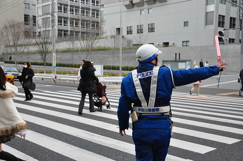 Japan Earthquake: when traffic lights are off