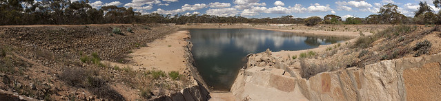 Dam at Karalee Rock
