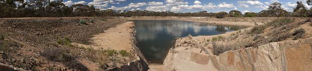 Dam at Karalee Rock