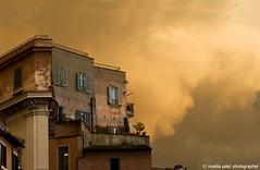 Sa Lughe (rosella sale) Tags: roma casa cielo atmosfera architettura luce campodeifiori rosellasale