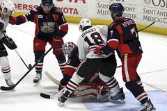 McCollum Save (the_mel) Tags: hockey ahl rockford metrocentre griffins icehogs grandrapidsgriffins rockfordicehogs phillipdanault bmoharrisbankcenter tommccollum