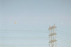 (Terrini) Tags: city urban tower film analog losangeles industrial kodak naturallight powerlines 35mmfilm overexposed analogue overexposure nikonfe digitalscan nikkor135mmf28ais walgreensprocessing ultramax400 consumerfilm
