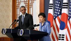 Korea_US_President_Obama_Visiting_19 (KOREA.NET - Official page of the Republic of Korea) Tags: korea seal summit bluehouse    uspresident cheongwadae  presidentbarackobama presidentobama koreapresident     presidentparkgeunhye