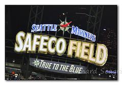 Safeco Sign (seagr112) Tags: seattlemariners seattle torontobluejays safecofield mlb baseball baseballgame washington sign