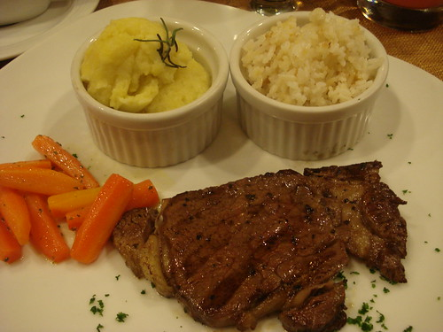 lola maria rib eye steak