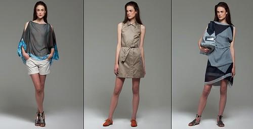 Jil Sander, conjuntos de moda para mujer, colección de verano de Jil Sander