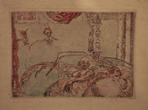 James Ensor - Adultery (De Ontucht) 1898)