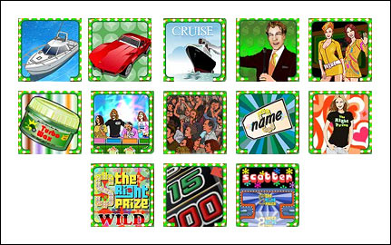 free The Right Prize slot game symbols