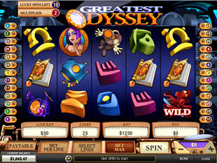free Greatest Odyssey lucky spins
