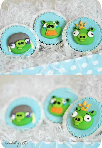 angry birds - pigs