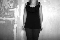 Let me out. (LaurenNicole.) Tags: blackandwhite bw selfportrait faceless laurennicole laurenknight lozzabeyyy