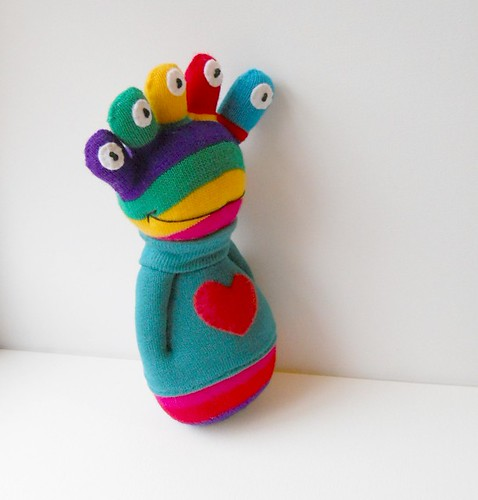 sock alien doll
