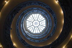Vaticans double helix staircase (DavidVazPhoto) Tags: trip vatican rome roma stairs vaticano escaleras